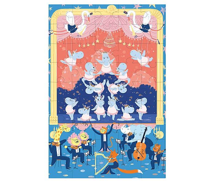 Krooom Игрушки из картона: пазл Балерина