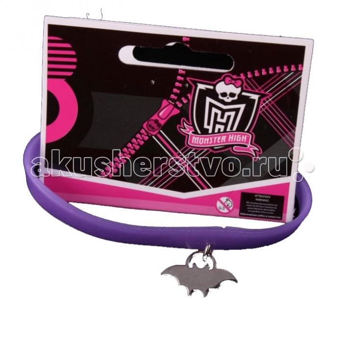 Аксессуары Монстер Хай (Monster High) Браслет Клаудин Вульф с подвеской силиконовый куклы монстер хай купить эбби и хит видео