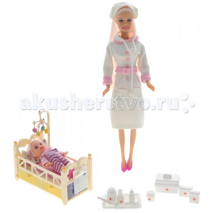Куклы и одежда для кукол Defa Lucy Внимательная медсестра Люси и Сайри с аксессуарами кукла defa lucy невеста 8341