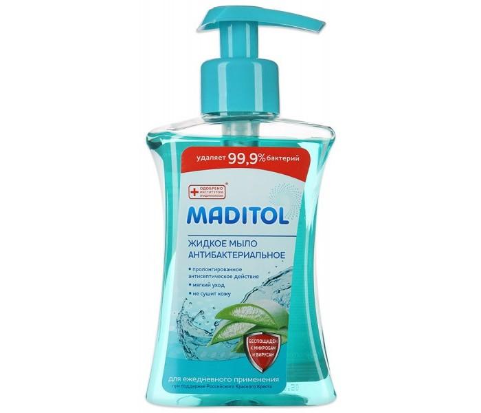 Косметика для мамы Maditol Мыло жидкое антибактериальное для рук Алоэ-Вера 250 мл