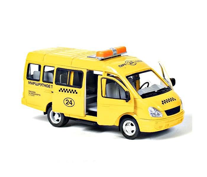 Play Smart Автопарк инерционная машина Газель 3221 такси 23 см