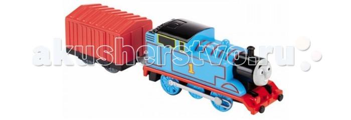 Thomas & Friends Паровозик Томас с вагоном, синий