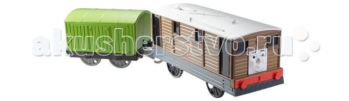 Thomas & Friends Паровозик Тоби с вагоном