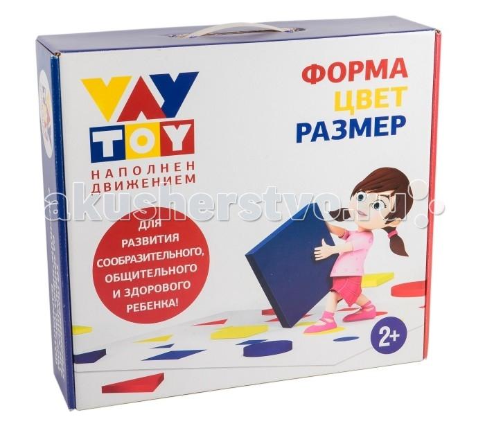 Vay Toy Развивающая игра Форма, Цвет, Размер
