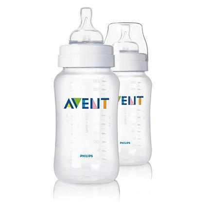 Бутылочки Philips Avent для кормления 2 шт. 330 мл бутылочки nurtria для кормления 2 шт 240 мл