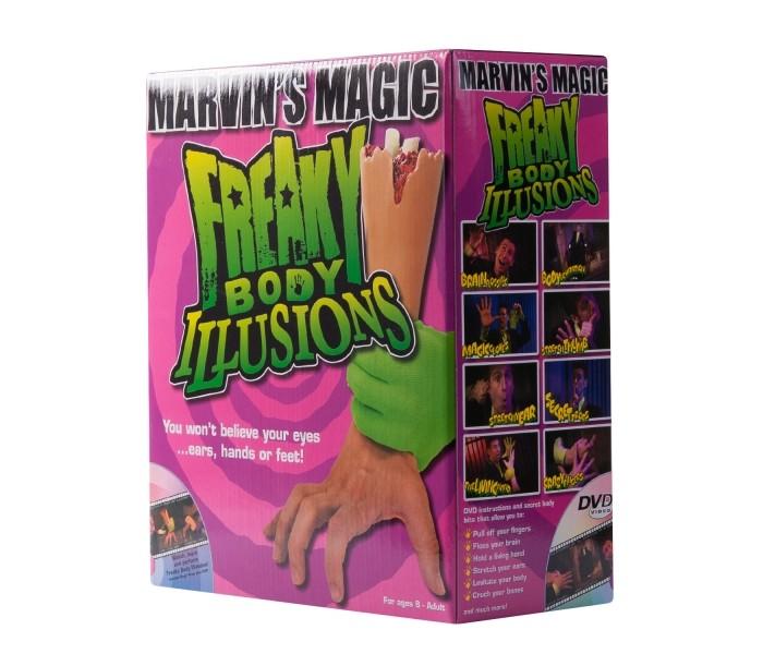 Игры для школьников Marvins Magic Набор фокусов Смешные ужасы с рукой, Игры для школьников - артикул:222586