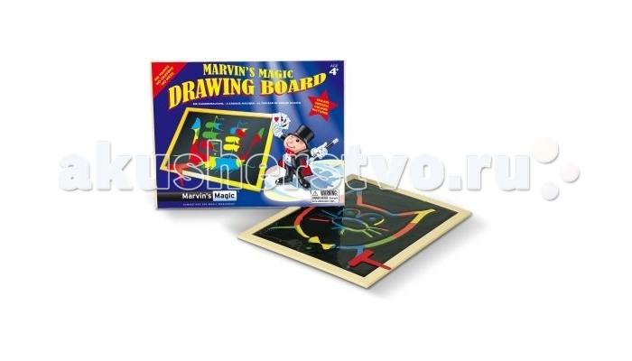 Развитие и школа , Доски и мольберты Marvins Magic Волшебная доска для рисования арт: 222610 -  Доски и мольберты