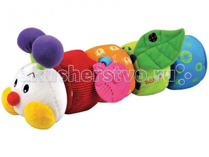 Развивающие игрушки KS Kids Гусеничка с прорезывателем KA604