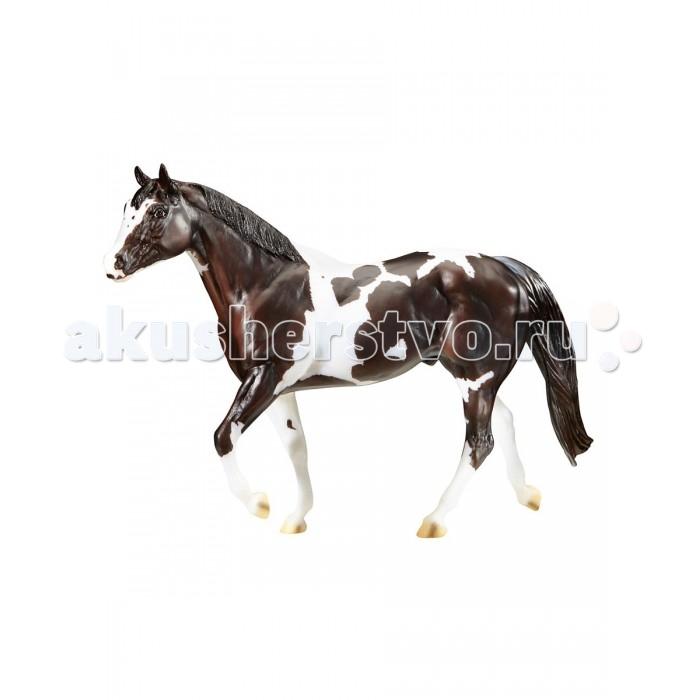 Breyer Лошадь Чоколат Чип КиссесЛошадь Чоколат Чип КиссесВсе лошади серии Traditional точно воспроизводят характерные черты и особенности представляемой ими породы.   На данный момент продукты компании Breyer являются самыми реалистичными копиями лошадей благодаря точности линий, проработке мелких деталей и ручной росписи. Все это позволяет сделать каждую лошадь особенной и абсолютно не похожей на других.  Лошадь Чоколат Чип Киссес - Чемпион мира среди лошадей породы пинто.  Масштаб 1:9   Размер лошади Д х В - 30 х 23 см  Лошадь упакована в красивую коробку. Изготовлена из высококачественного материала, абсолютно безопасна в использовании, рекомендована детям от 4-х лет.<br>