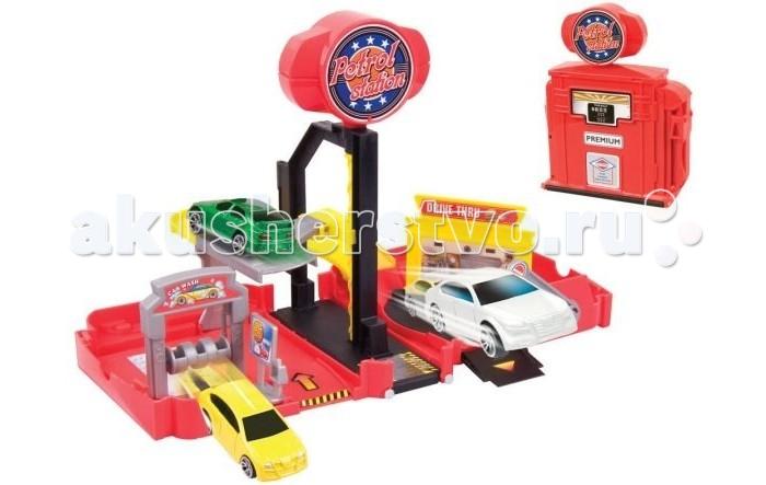 Игровые наборы Пламенный мотор Набор-трансформер 2 в 1 Автомойка