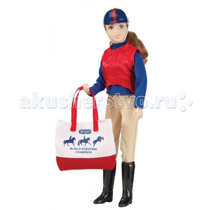 Куклы и одежда для кукол Breyer Кукла Сара с аксессуарами для троеборья breyer трактор с аксессуарами
