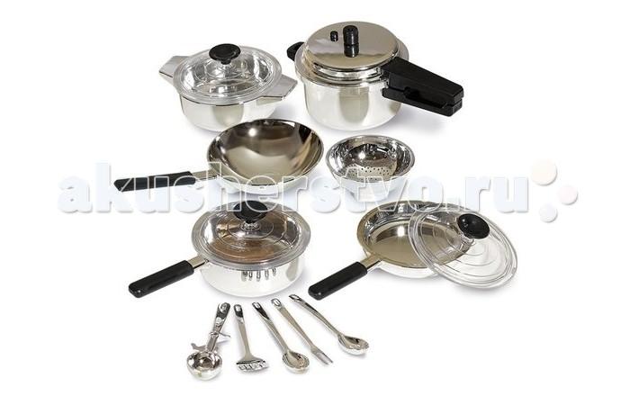 Ролевые игры Casdon Набор кухонной посуды сковородки