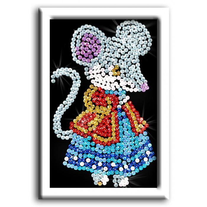Наборы для творчества Волшебная мастерская Мозаика из пайеток Мышка волшебная мастерская мозаика из пайеток 3d мышка