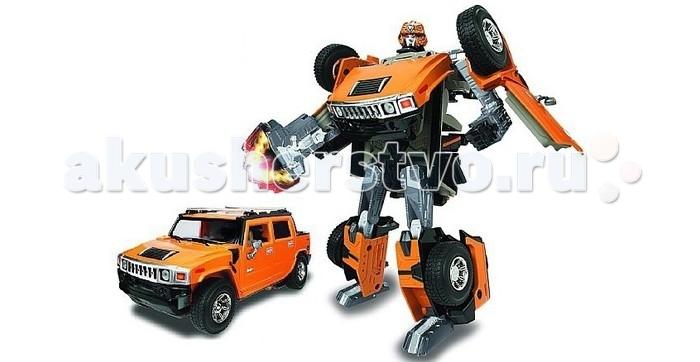 Роботы Happy Well Робот-трансформер Hummer H2 (свет) 1:24 устройство hummer h2 12000mah