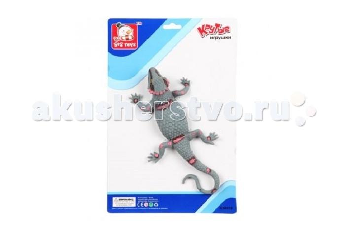 Игровые фигурки S+S Toys Динозавр 15 см ES-SR6328-115 игровые фигурки s s toys игрушка ящерица 30 см