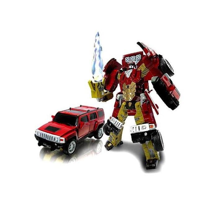 Роботы Happy Well Робот-трансформер Hummer H3 (свет) 1:32 машины happy well трансформер машина ford gt 1 32