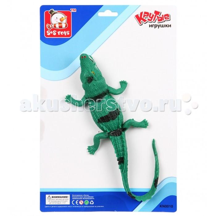 Игровые фигурки S+S Toys Крокодил 31 см фигурки игрушки s s развивающая игра бегающий дракончик
