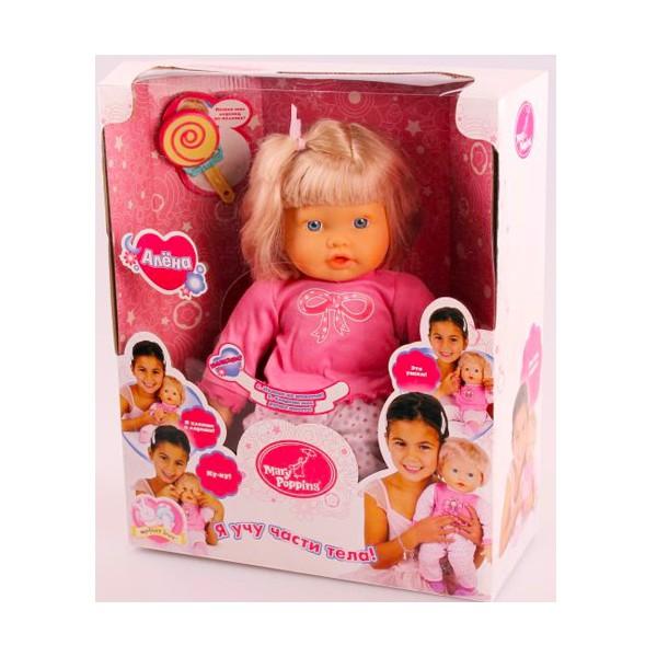 Куклы и одежда для кукол Mary Poppins Алена Я учу части тела куклы mary poppins кукла функциональная 30см