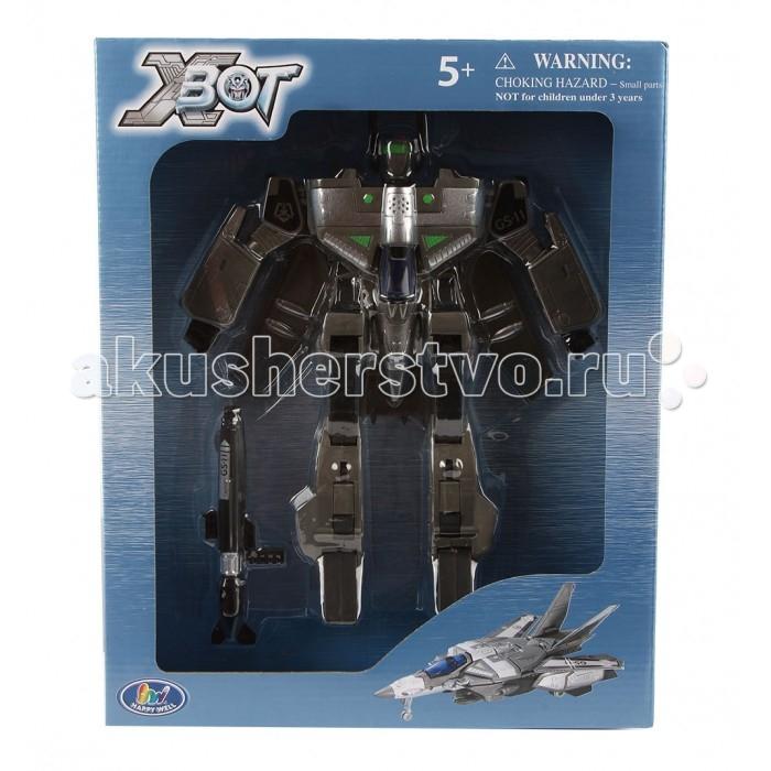 Роботы Happy Well Робот-трансформер Самолет 26 см
