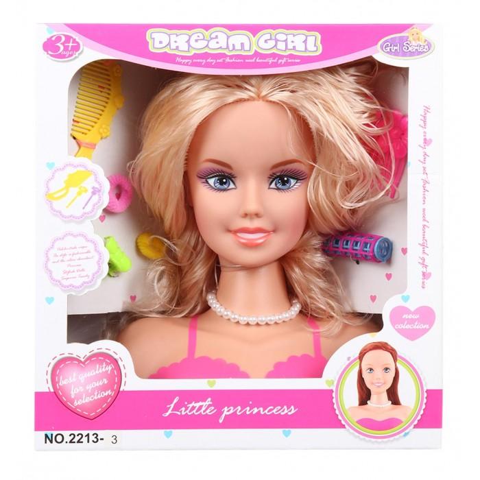 Куклы и одежда для кукол Игруша Кукла-манекен для создания причесок i-2213-3 манекен с натуральными волосами