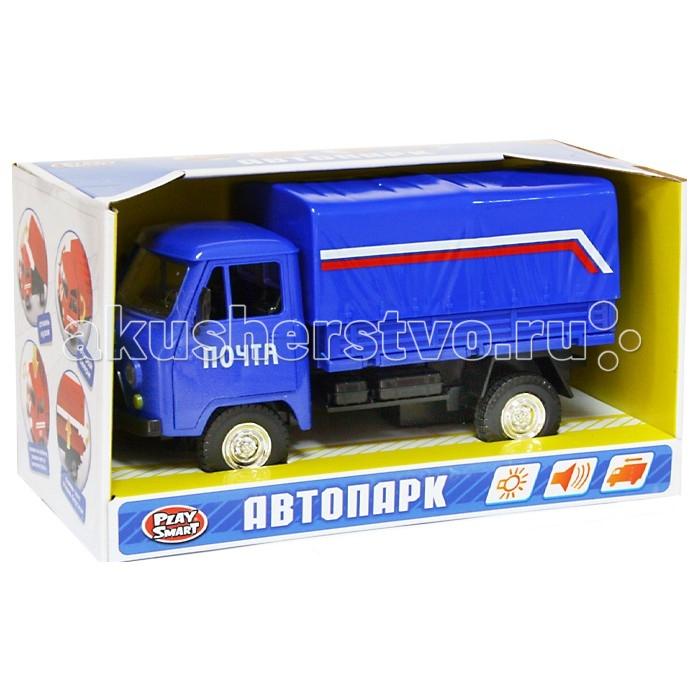 Машины Play Smart Автопарк инерционная машина почта фургон play smart машина автопарк пожарная служба 9557 а
