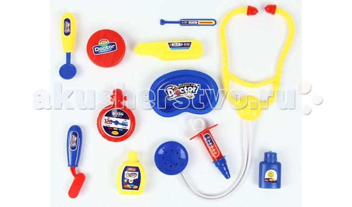 Ролевые игры Игруша Игровой набор Доктор I894896 ролевые игры игруша игровой набор продукты 6 предметов