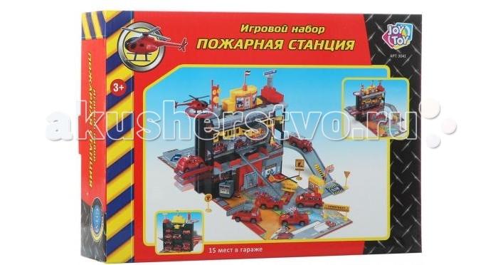 Игровые наборы Play Smart Игровой набор Пожарная станция Р41446 play smart набор военной техники с солдатами play smart битва рас 34см арт 3035 к35510