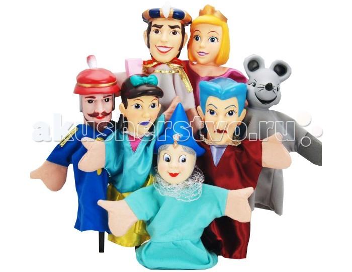 Жирафики Кукольный театр Золушка (7 кукол)