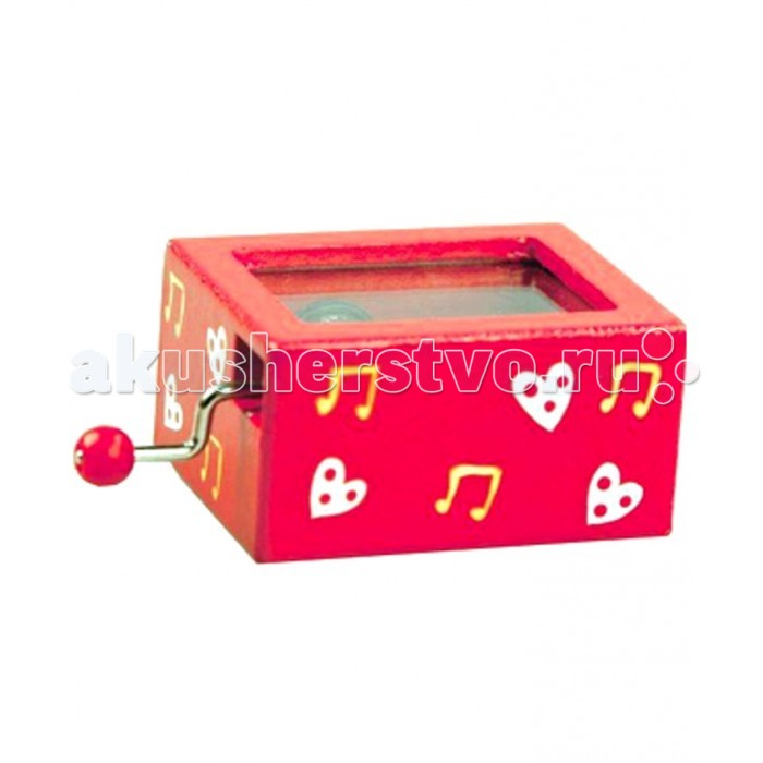 Музыкальные игрушки Mapacha Шарманка шкатулки trousselier музыкальная шкатулка 1 отделение fairy parma