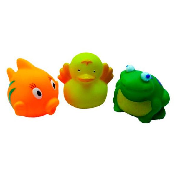 Игрушки для ванны Жирафики Набор для купания В пруду игрушки для ванны жирафики набор для купания черепашка и пингвин