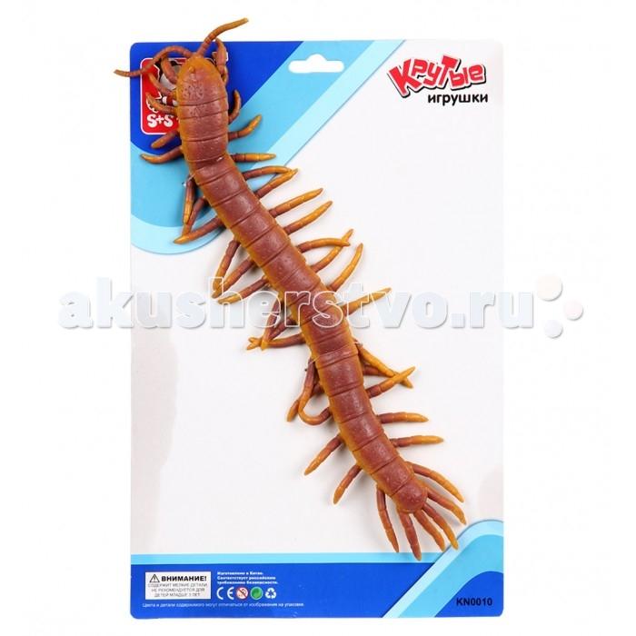 Игровые фигурки S+S Toys Игрушка Сороконожка 31 см фигурки игрушки s s развивающая игра бегающий дракончик