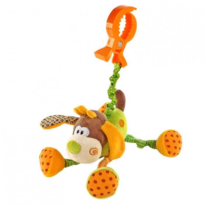 Подвесные игрушки Жирафики Веселый щенок 93591 погремушка щенок