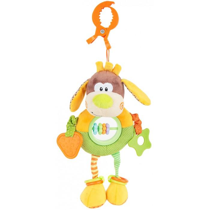 Подвесные игрушки Жирафики Веселый щенок 93592 погремушка щенок