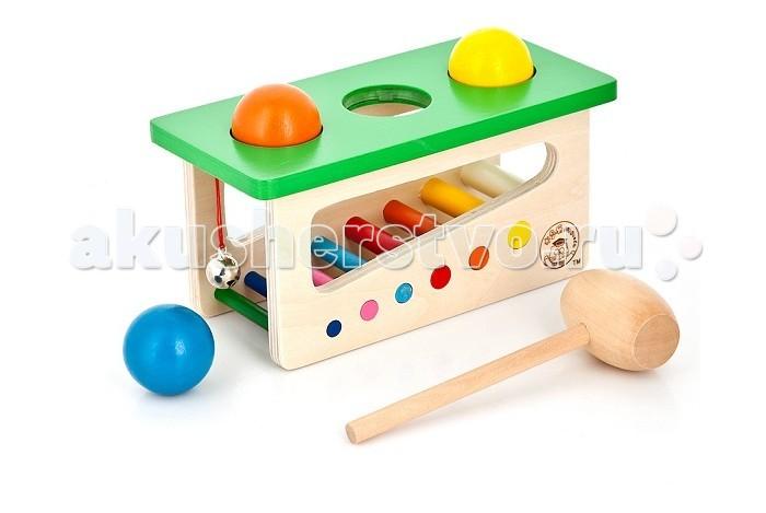 игры и игрушки для детской Деревянные игрушки Mapacha Набор Забей шарик
