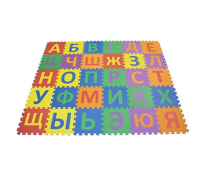 Игровой коврик FunKids Алфавит-2Алфавит-2Игровой коврик FunKids Алфавит-2 - набор из 30 квадратных плит с вложенными малыми квадратами-пазлами и буквами русского алфавита, которые можно вынимать, использовать самостоятельно и вставлять обратно.   Особенности: FunKids Алфавит-2 - развивайся с комфортом! Это действительно увлекает. Мягкий и прятный на ощупь материал без запаха придется по вкусу вашему малышу. Образовательный - изучайте буквы и используйте плиты как конструктор; Легко собирается - конфигурацию настила меняйте в зависимости от геометрии комнаты; Мягкая рифленная поверхность - смягчает удары при падении и поглащает шум; Безопасный - не содержит фталат, аммиак и ПВХ; Удобный - легкий и компактный для хранения и транспортировки.  Размер частей (плит): 30 см х 30 см х 1,5 см Площадь набора пазлов в собранном виде: 2,7 кв.м.  Состав: EVA foam (вспененный полиэтилен с добавлением этилвинилацетата)<br>