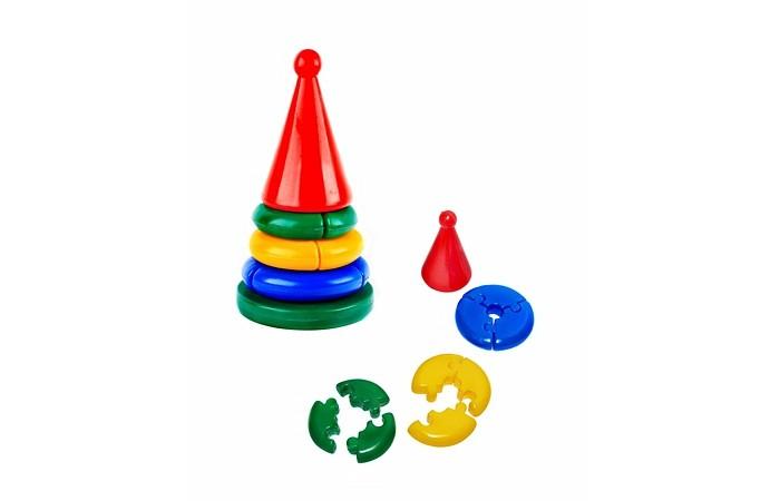 Развивающие игрушки СВСД Пирамидка Логика свсд пирамидка качалка квадрат конус