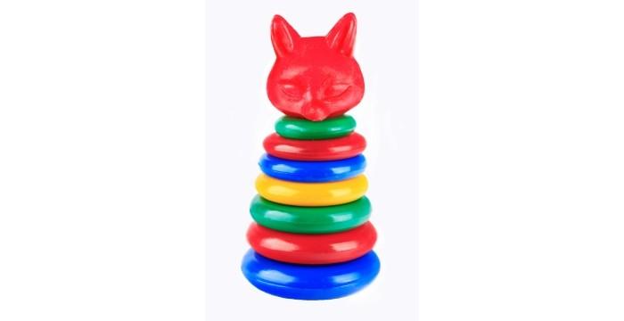 Развивающие игрушки СВСД Пирамидка Лисичка развивающие игрушки свсд пирамидка лисичка