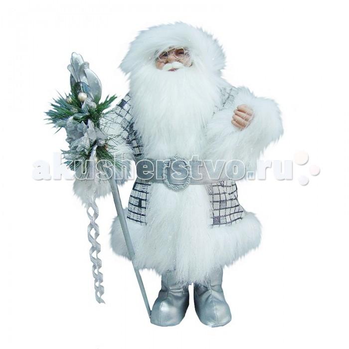 Maxitoys Фигура Дед Мороз с Посохом 80 смФигура Дед Мороз с Посохом 80 смДед Мороз - большая рождественская фигурка, без которой практически невозможно представить себе ни один новогодний праздник.   Конечно же, в мешке этот вестник наступающего года несет подарки (правда декоративные).  Выглядит очень естественно, со множеством мелких деталей. Отлично встанет под новогоднюю елку.  Высота Фигуры - 80 см<br>