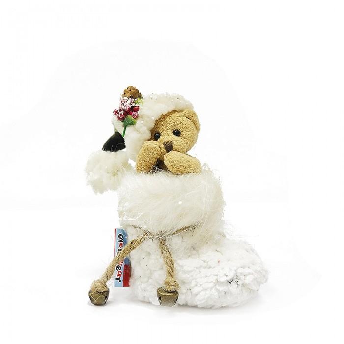 Игровые фигурки Maxitoys Фигура Мишка в Сапоге 15 см декоративная фигурка мишка именинник высота 13 см 29373