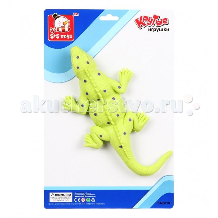 Игровые фигурки S+S Toys Игрушка Ящерица 30 см игровые фигурки s s toys игрушка ящерица 30 см