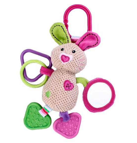 Купить Подвесная игрушка Жирафики Кролик с зеркалом в интернет магазине. Цены, фото, описания, характеристики, отзывы, обзоры