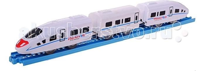 Железные дороги Play Smart Железная дорога Супер-экспресс Молния железная дорога 1toy супер экспресс новые дороги 59 эл