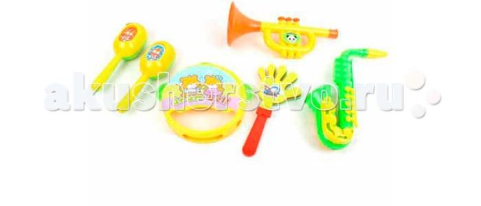 Музыкальные игрушки S+S Toys Набор музыкальных инструментов СС75449 музыкальные игрушки s s toys музыкальные инструменты