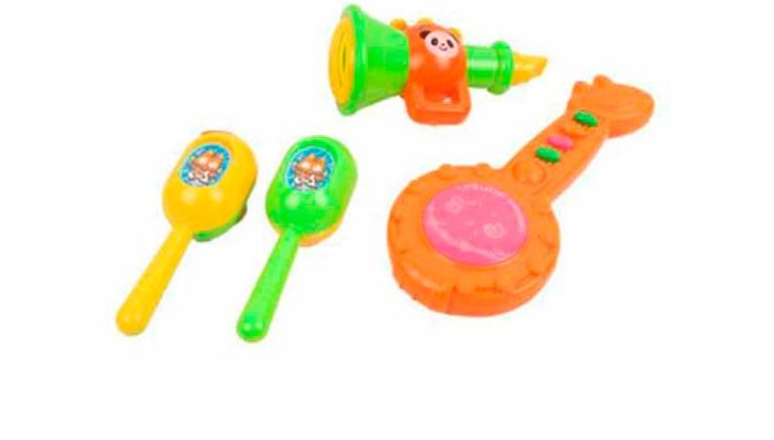 Музыкальные игрушки S+S Toys Набор музыкальных инструментов СС75451 s s toys 80083ear военный внедорожник