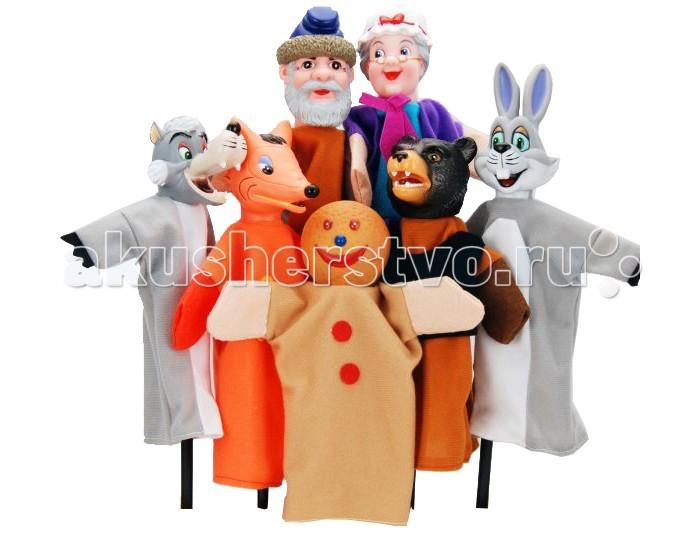 Ролевые игры Жирафики Кукольный Театр Колобок (7 кукол) ролевые игры жирафики кукольный театр репка 6 кукол