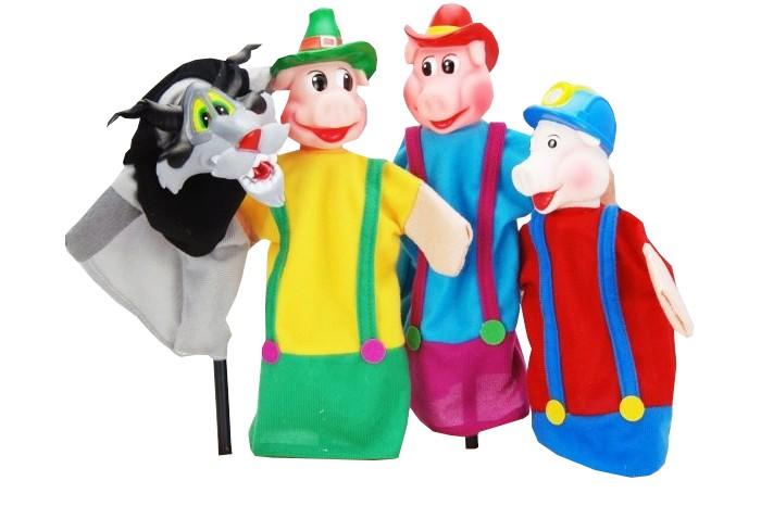 Жирафики Кукольный Театр Три поросёнка (4 куклы)