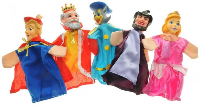 Ролевые игры Жирафики Кукольный Театр Кот в сапогах (5 кукол) ролевые игры жирафики кукольный театр репка 6 кукол