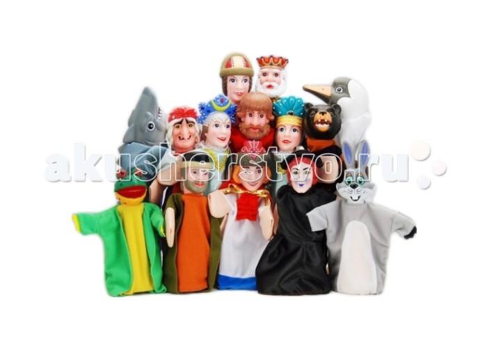 Ролевые игры Жирафики Кукольный Театр Принцесса Лягушка (14 кукол)