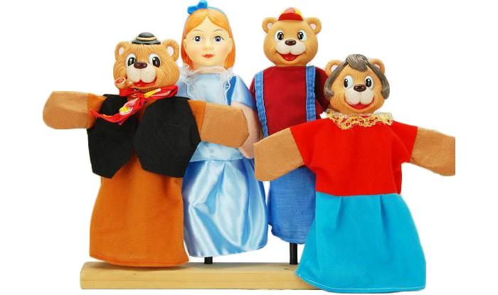 Ролевые игры Жирафики Кукольный Театр Три медведя (4 куклы) цены онлайн