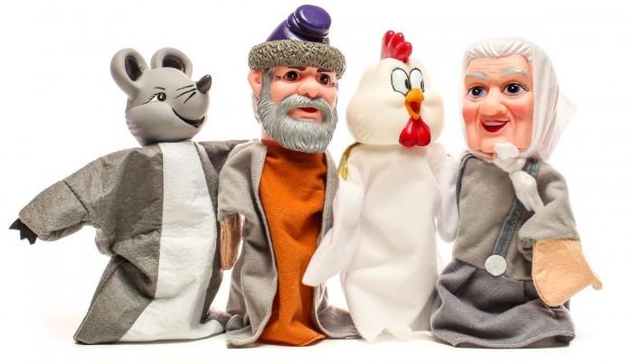 Жирафики Кукольный Театр Курочка Ряба (4 куклы)